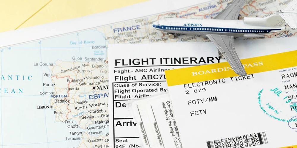 Confirmed flight Booking / Hotel Booking / Travel Insurance / Onward Destination Booking