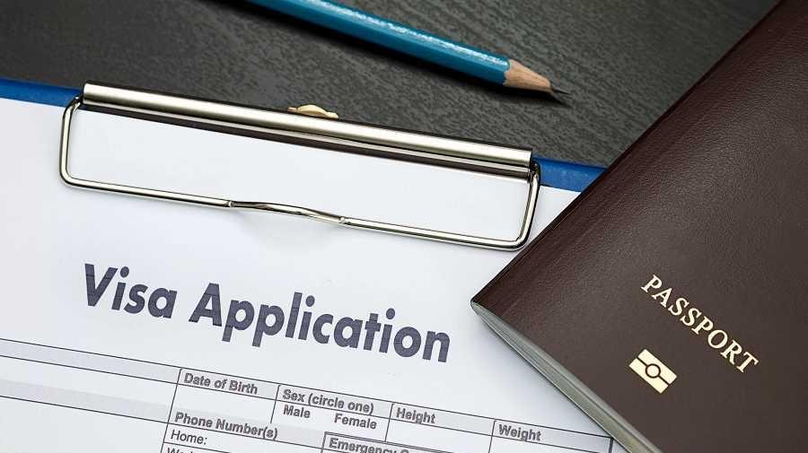 Duly filled Visa Application form