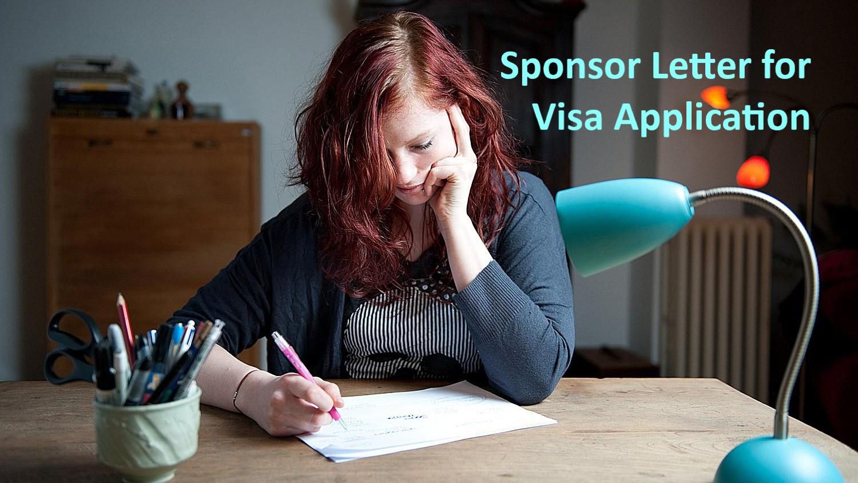 Sponsor Letter for Dubai visa application