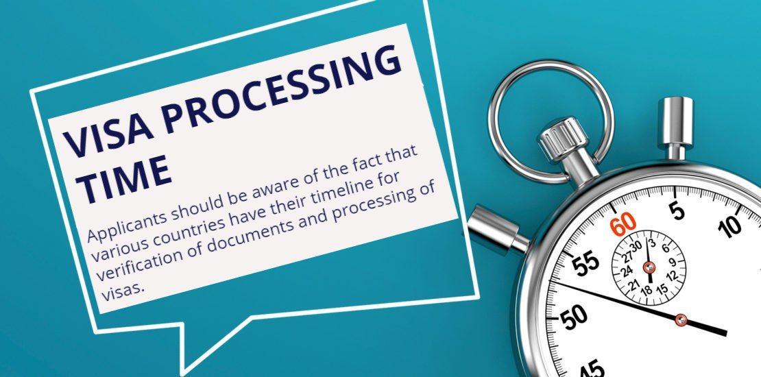 Dubai Visa processing time