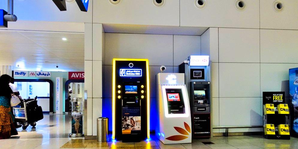 Currency exchange at ATM in Dubai - Insta Dubai Visa
