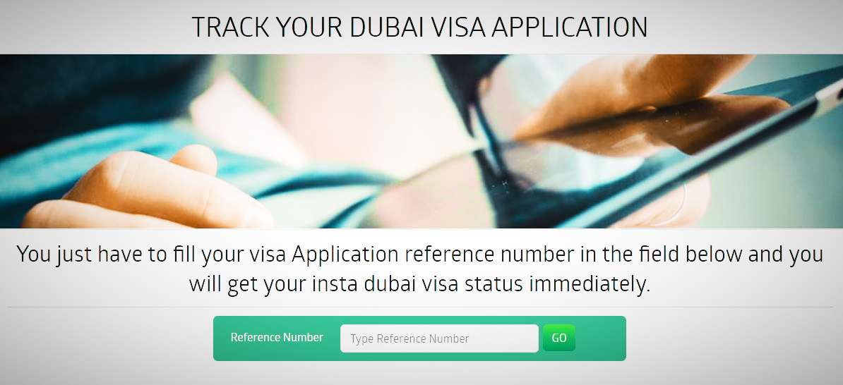 Keep track of your Dubai visa application