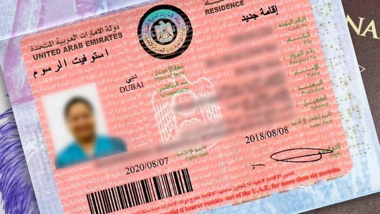 Residence Permit for Dubai visa