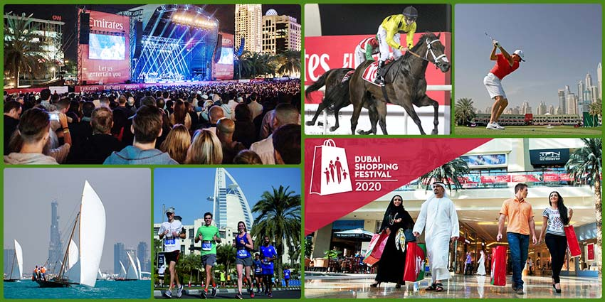 best events in dubai