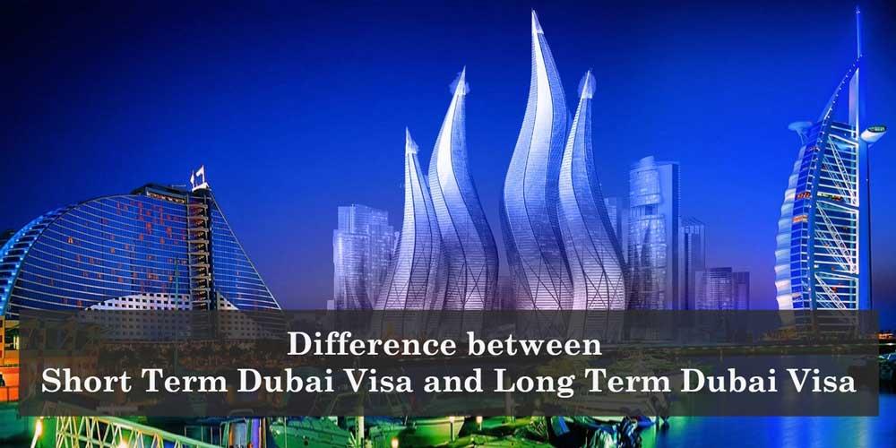 short term and long term dubai visa