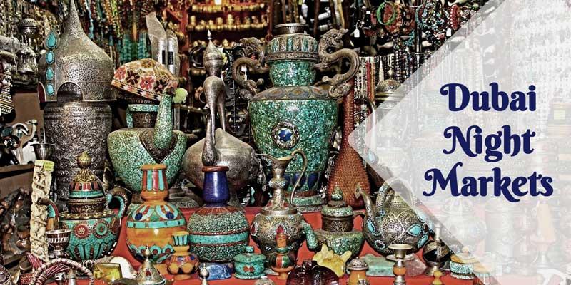 dubai souks night markets