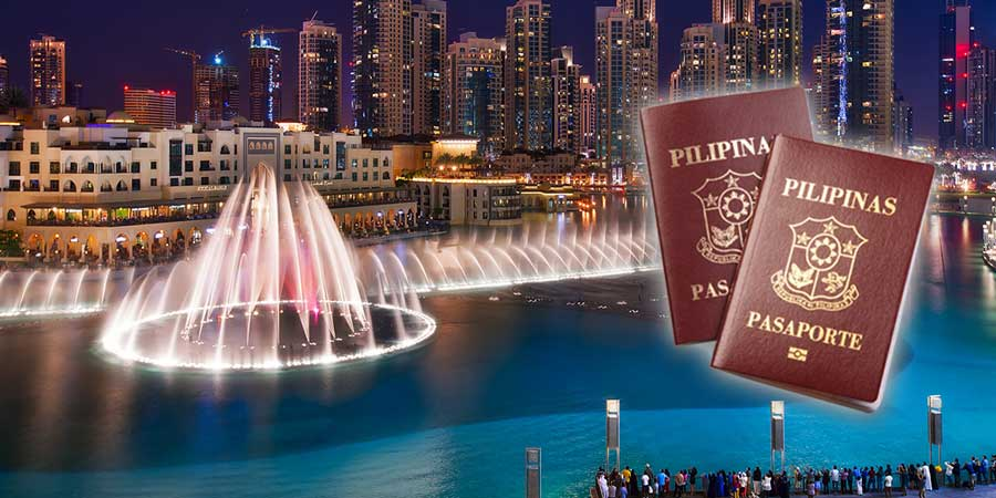 apply now for uae visa for philippines