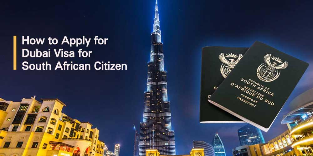 dubai visa for south african