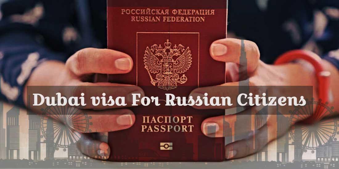 dubai visa from russia