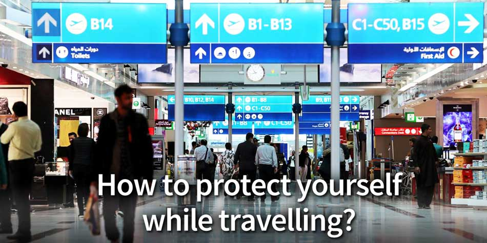 protect yourself from coronavirus while travelling