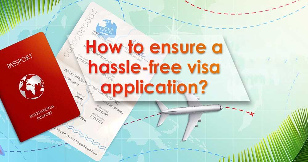 hassle-free dubai visa application