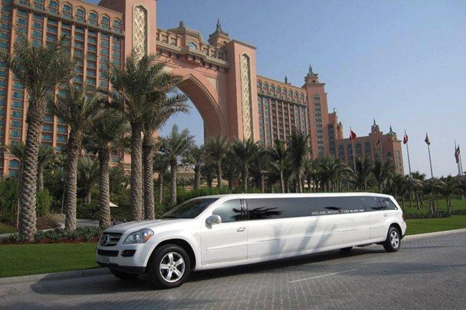 Limo ride in Dubai